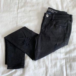 American Eagle 4Short Black Jeans